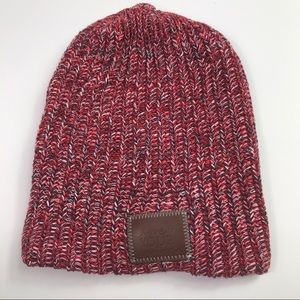 Love your melon beanie red